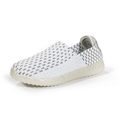 NETRO White Light Up Woven Sneakers