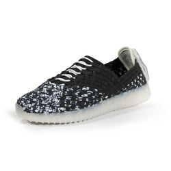 Nevi Black/White Multi Light Up Sneaker