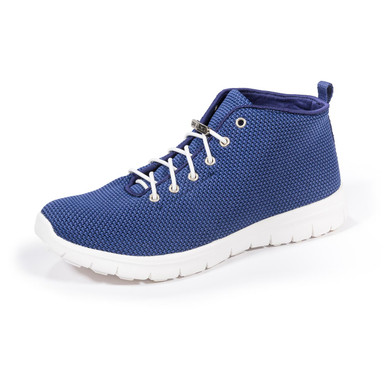 Kerrigan Navy Blue Slip-on High Top Sneakers