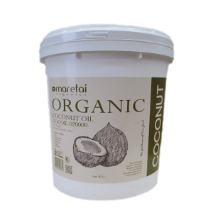 Cold pressed organic certified coconut oil - product of Sri Lanka