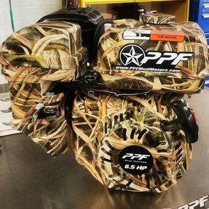 Hydrographics Camo Engine Package