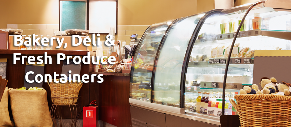 Bakery, Deli, and Produce Containers and Supplies