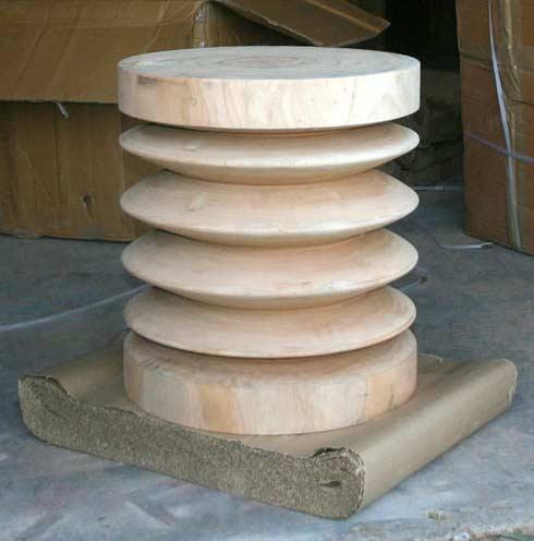 Custom Abaidoo Stool Table