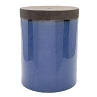 Prisma Glazed Ceramic Stool