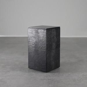 Outback Crocodile Leather Cube