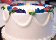 "7"" Vanilla Double Layered Cake"