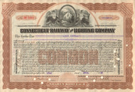 Connecticut Railway and Lighting Company stock certificate 1928