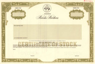 Brooks Brothers stock certificate specimen 1998