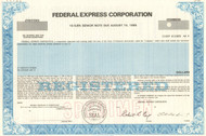 Federal Express bond specimen 1985 (Fedex)
