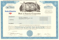 Bank of America Corporation stock certificate 2012