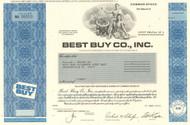 Best Buy Co. Inc stock certificate 2012 (consumer electronics)