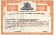 Pyramid Motor Freight stock certificate