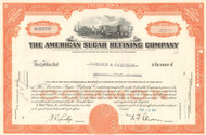 American Sugar Refining Company stock certificate 1961 (one time sugar monopoly)
