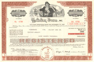 Holiday Inns Inc  $100,000 bond certificate 1984 (hotels)