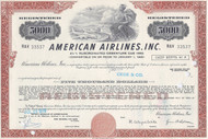 American Airlines Inc bond - brown $5000