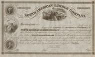 North American Lumber Company stock certificate