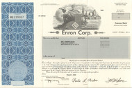 ENRON Corp 2004 stock certificate