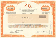 XO Communications 2002 stock certificate