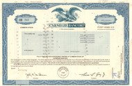 Carnegie Bancorp 1994 stock certificate