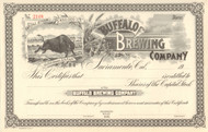 Buffalo Brewing Company stock certificate