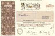 Dollar General Corporation 1995 stock certificate