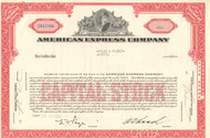 American Express Company stock certificate 1962