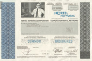 Nortel Networks 2002 stock certificate