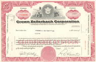 Crown Zellerbach Corporation stock certificate 1965