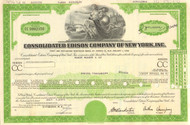 Consolidated Edison Company of New York bond 1970's - Version 2 - green