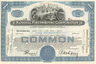 National Fireproofing stock certificate 1950's