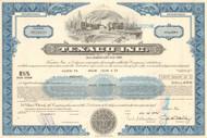 Texaco bond certificate 1976 (oil and gasoline)