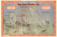Bay Area Ghosts, Inc. stock certificate 2003  (San Francisco CA)