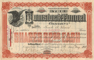 Comstock Tunnel Company stock certificate 1918 (Nevada)
