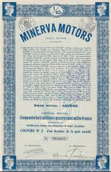 Minerva bond - Belgium