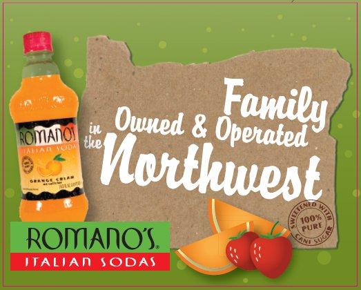 Romano's Italian Sodas Family Owned Business