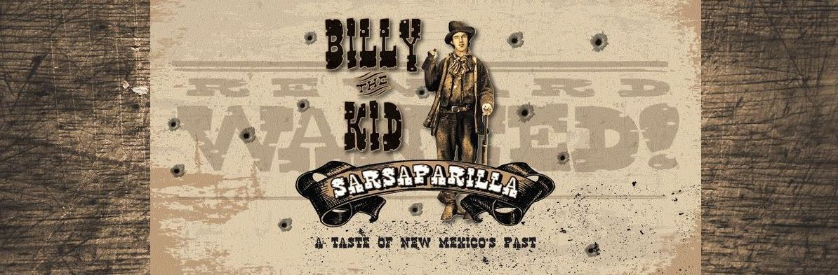 Billy the Kid Sarsaparilla Sold at SummitCitySoda.com