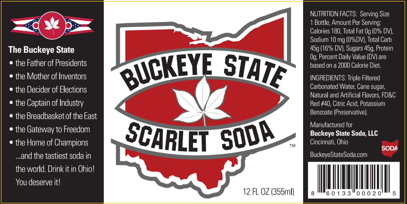 Buckeye State Soda Sold Online at SummitCitySoda.com