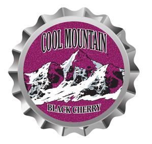 Cool Mountain Black Cherry Soda Bottle Cap