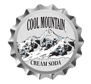 Cool Mountain Cream Soda Bottle Cap