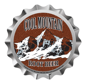 Cool Mountain Root Beer Bottle Cap