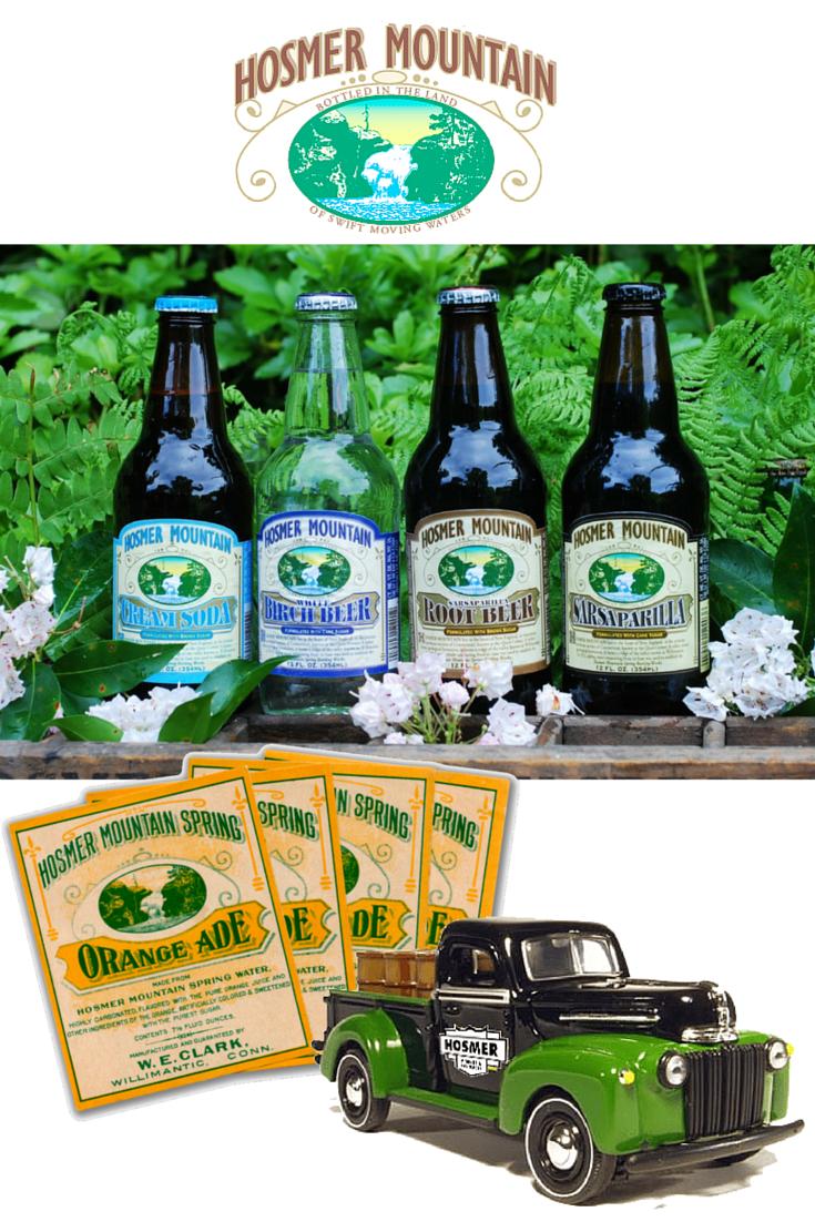 Hosmer Mountain Sodas from New England at SummitCitySoda.com