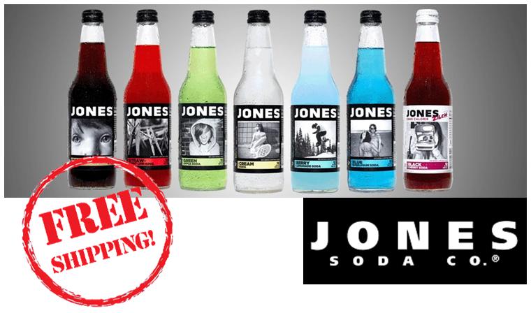 Buy Jones Soda with FREE Shipping at SummitCitySoda.com