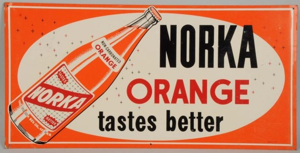 Norka Orange Soda Tastes Better from SummitCitySoda.com