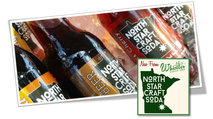 North Star Craft Sodas from Whistler Bottling | Sold Online atSummitCitySoda.com