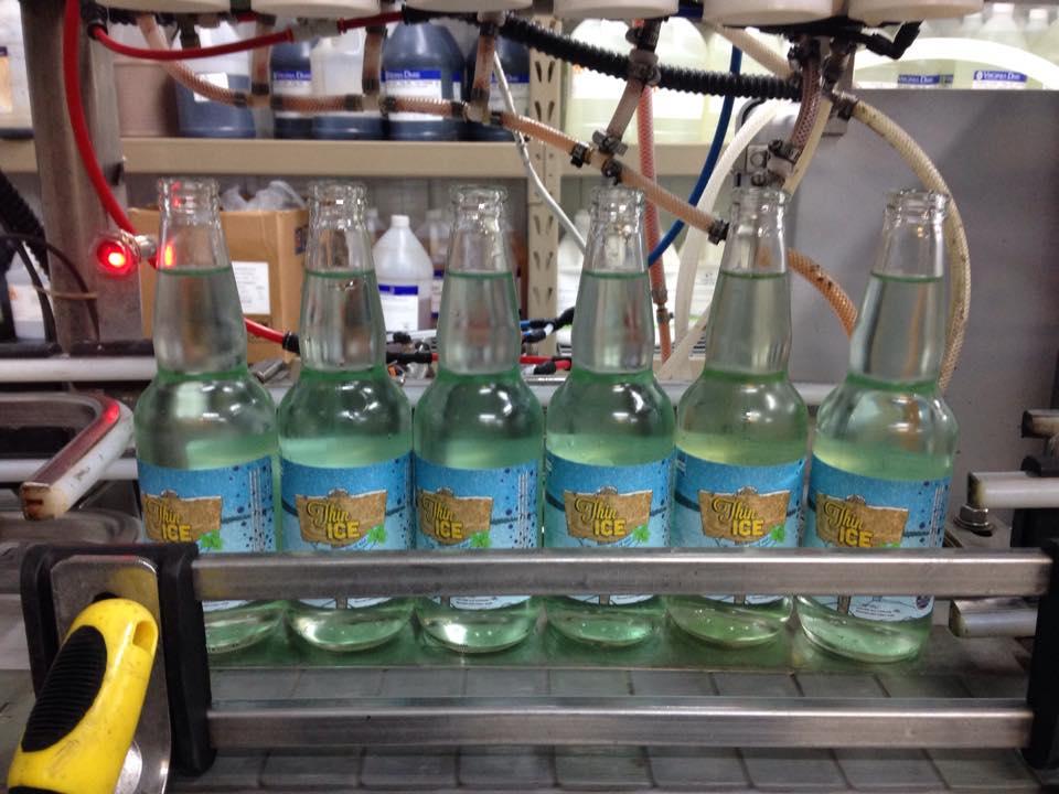 Northwoods Soda Bottling Line
