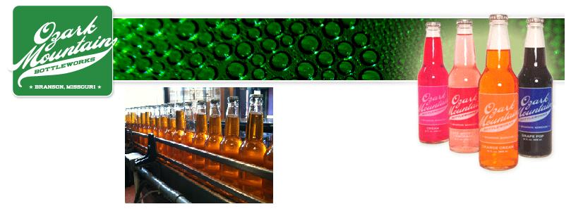Ozark Mountain Bottleworks Soda Pop for Sale Here