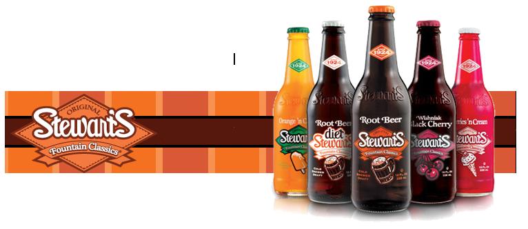 Stewarts Fountain Classics Sodas onsale at Summit City Soda