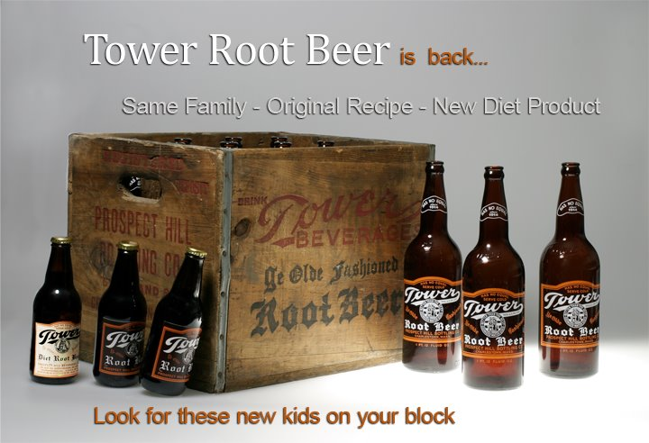 Tower Root Beer is Back and Sold Online at SummitCitySoda.com