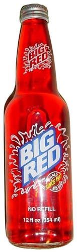 Big Red Soda in 12 oz. glass bottles for Sale at SummitCitySoda.com