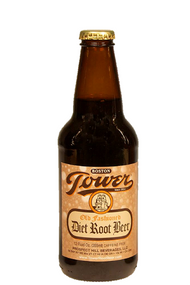 Tower Diet Root Beer in 12 oz. glass bottles for Sale from SummitCitySoda.com